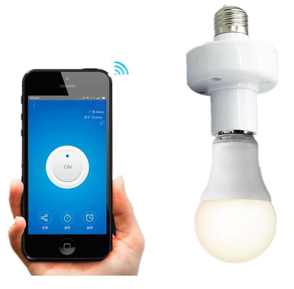 WIFI Smart Bulb Socket Gives You Automation From Your Smart Phone