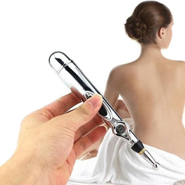 Electric Acupuncture Pen Relieves Stress, Tension and Eases Your Body Of Pain Quickly With No Side Effects [see Video]