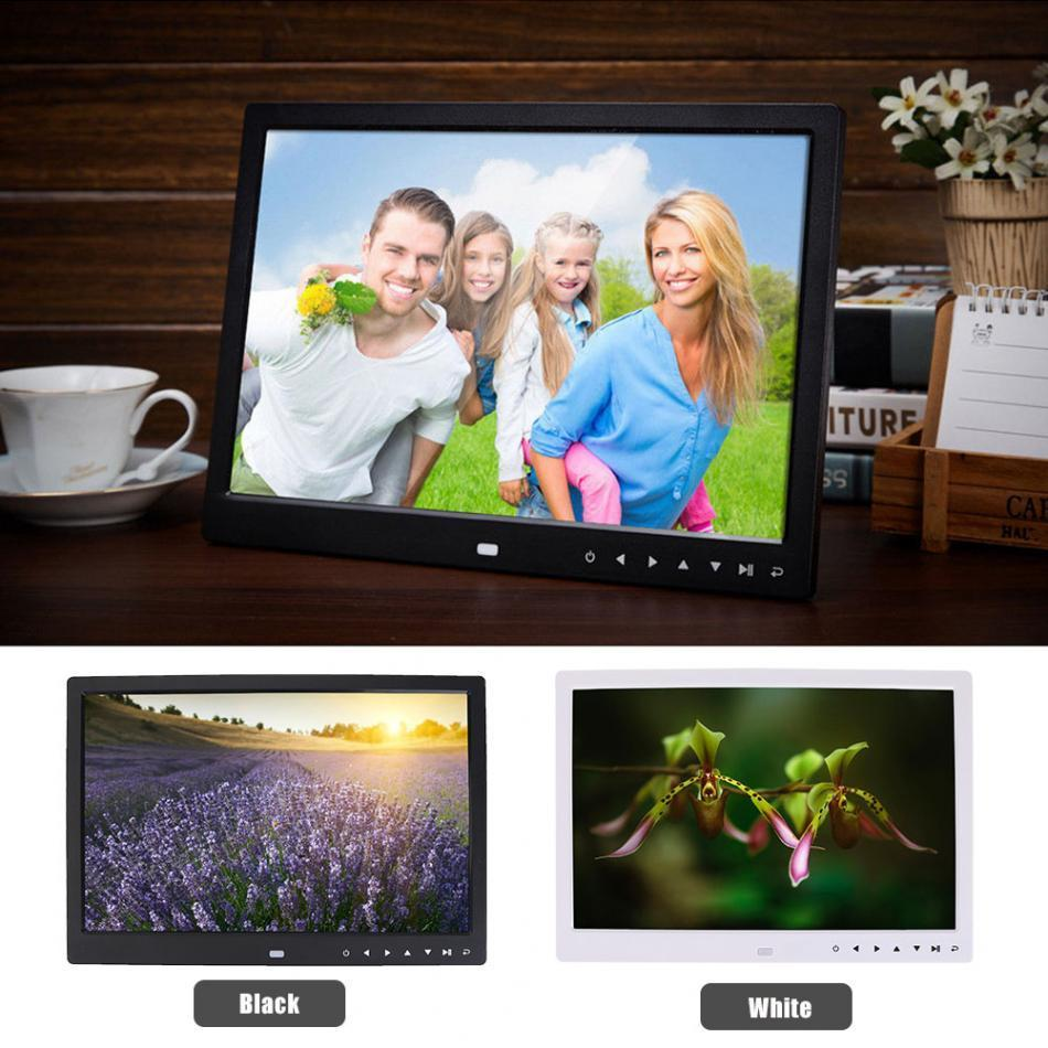 "Huge 15"" LED Digital Photo Frame with Multi-function Touch Screen So You Get Amazing Resolution"