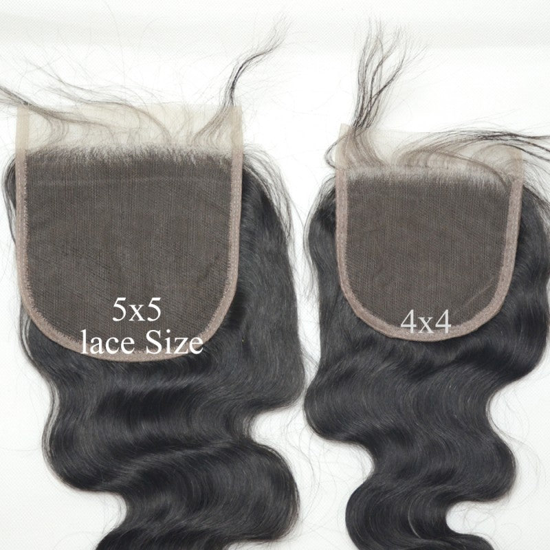 Extended 5x5 Lace Closures