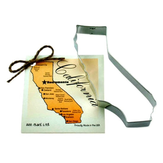 State of California Cookie Cutter by Ann Clark MADE IN USA!