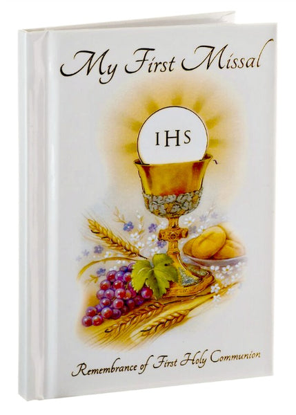 First Communion My First Missal Hardcover Book Religious Art 1009