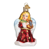 Angel With Lyre World Christmas Ornament