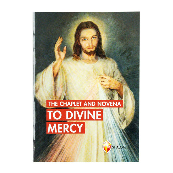 The Chaplet and Novena to the Divine Mercy Booklet Religious Art 10264