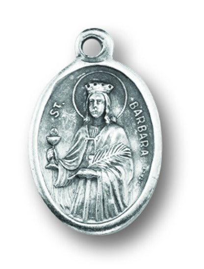 St. Barbara Medal Charms - Pack of Ten - Patron of Architects