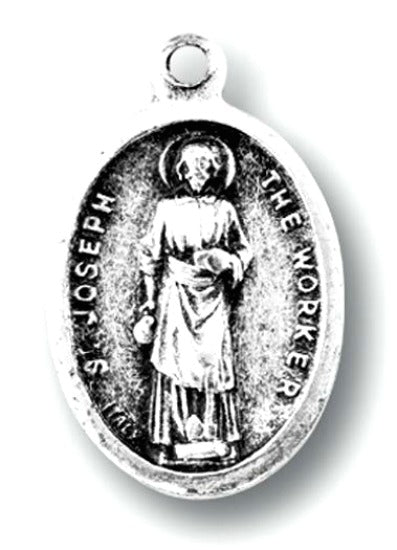St. Joseph the Worker Medal Charms - Pack of Ten - Patron of Workers Hirten 1086-635