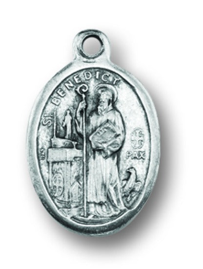 St. Benedict Medal Charms - Pack of Ten - Patron of Europe & Those with Kidney Disease  1086-645