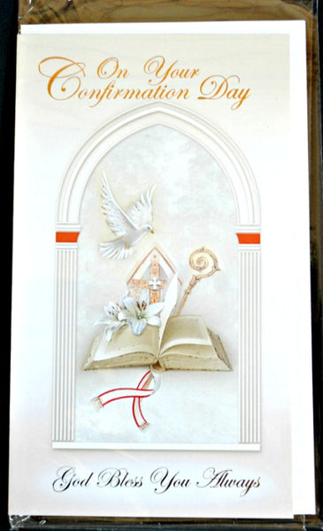 On Your Confirmation Day General Greeting Card - Printed in Italy