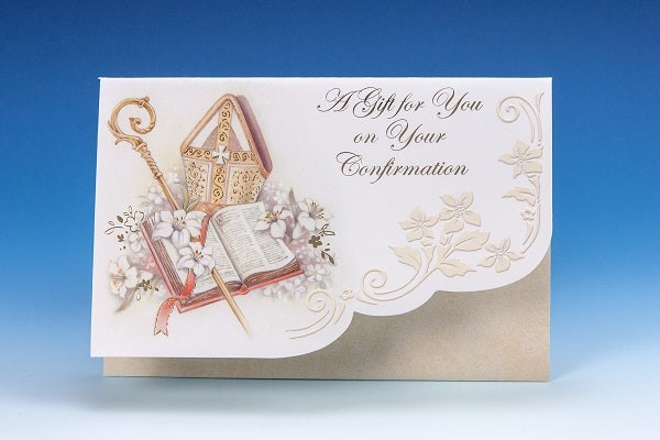 Confirmation Money Gift Greeting Card