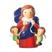 "Mary Our Lady of Undoer (Untier) of Knots 3"" Statue - Little Drops of Water Series"