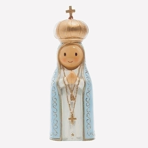 Our Lady of Fatima 4.25 Statue - Little Drops of Water Series