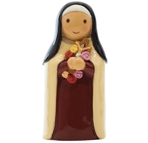 "St. Therese of Lisieux ""The Little Flower"" 3.25"" Statue - Little Drops of Water Series"