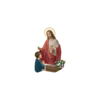 First Communion Boy 3-D Magnet OR Standing Plaque Italy