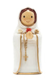 Mary Mystical Rose Statue Figure - Little Drops of Water Series