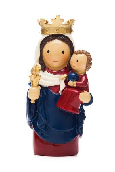 "Our Lady of Notre Dame ""Little Drops Of Water"" Statue 3.5"" Figure 165532YX"