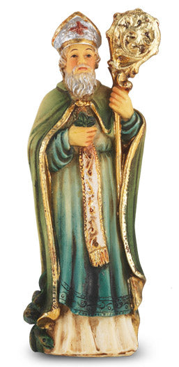 "St. Patrick of Ireland Patron Saint 4"" Statue by Hirten 1735-640"
