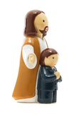 "First Communion Boy with Jesus Little Drops of Water 3.5"" Figure  185244YX"
