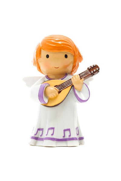 My Guardian Angel Mandolin Player Little Drops My Angel & Me Figure 185279YX
