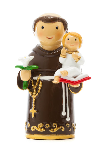 "St. Anthony of Padua 3.5"" Figure Little Drops of Water"
