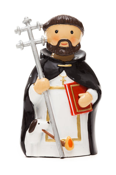 "St. Dominic ""Little Drops Of Water"" Statue 3.5"" Figure 195073YX"