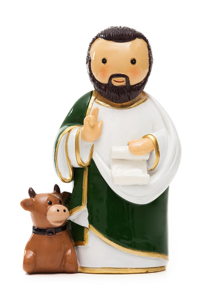 "St. Luke the Evangelist ""Little Drops Of Water"" Statue 3.5"" Figure 195090YX"
