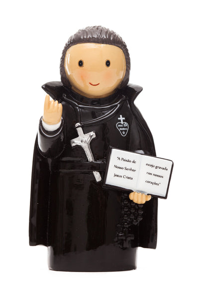 "St. Paul of the Cross ""Little Drops Of Water"" Statue 3.5"" Figure 195105YX"