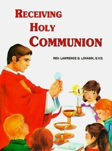 Receiving Holy Communion Children's Hardcover Book