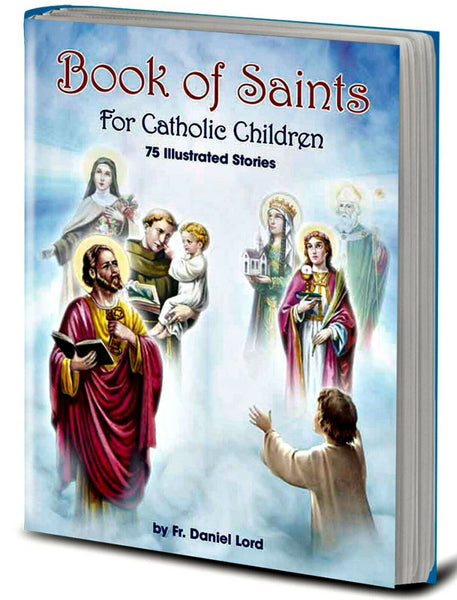 The Book of Saints For Catholic Children HC Book Hirten 2427
