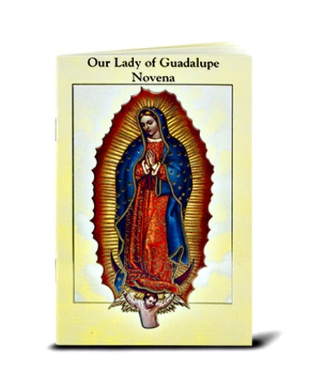 Our Lady of Guadalupe Novena & Prayers Booklet Hirten 2432-216