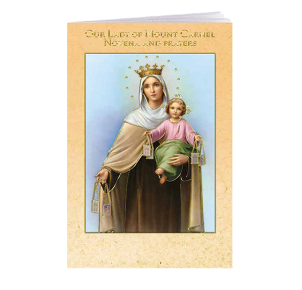 Our Lady of Mount Carmel Novena and Prayers Booklet Hirten 2432-275