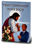 First Communion Mass Book with Boy Cover Hirten 2466