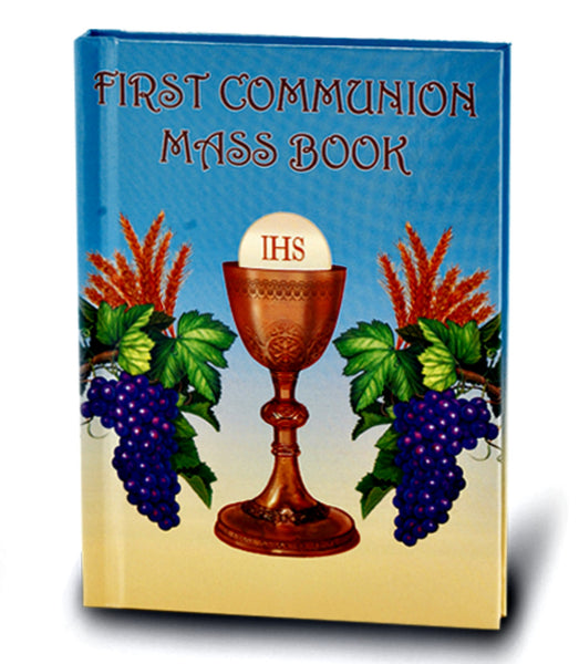 First Communion Mass Book with Chalice & Host Cover Hirten 2467