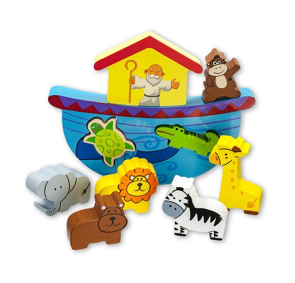Child's Noah's Ark Wood Block Puzzle Hirten 2724