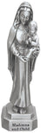 "Madonna & Child 3.5"" Pewter Statue - Made in USA! Virgin Mary"