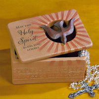 May the Holy Spirit Bless You Always Trinket Box - CONFIRMATION Gift Abbey Gift