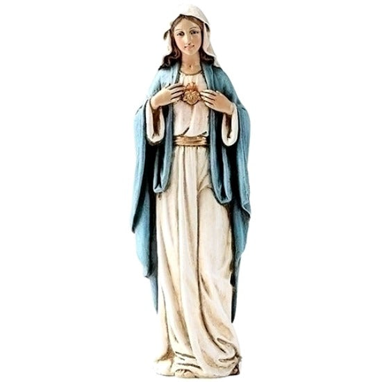 "Immaculate Heart of Mary 6"" Statue Figure Joseph's Studio Roman 60689"