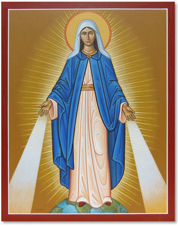 Our Lady of Grace Icon 8x10 Print Unframed by Monastery Icons PL611LGU