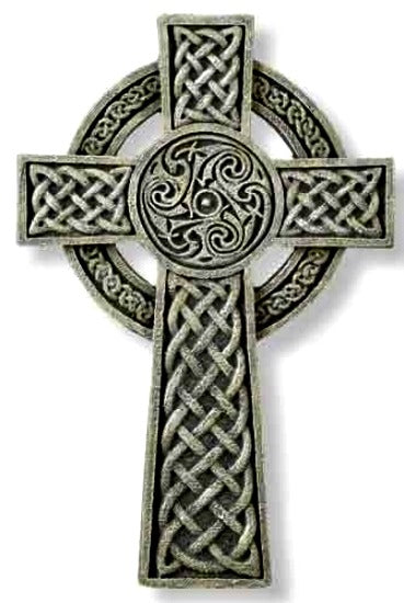 "Celtic Wall Cross 9.5"" by Joseph's Studio - Irish Theme Roman 64070"