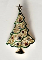 The First Christmas Tree Lapel Pin by Roman