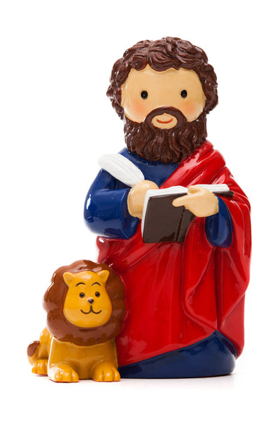 "St. Mark the Evangelist ""Little Drops Of Water"" Statue 3.5"" Figure 195088YX"