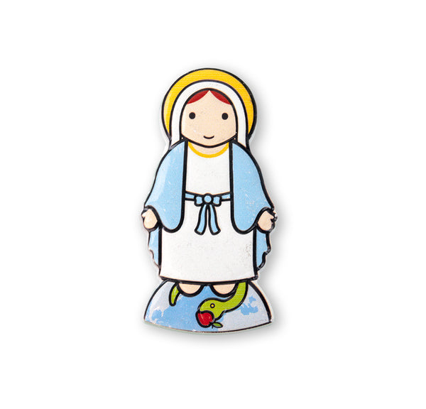 Our Lady of Grace Little Drops of Water 3-D Magnet Hirten 836-200