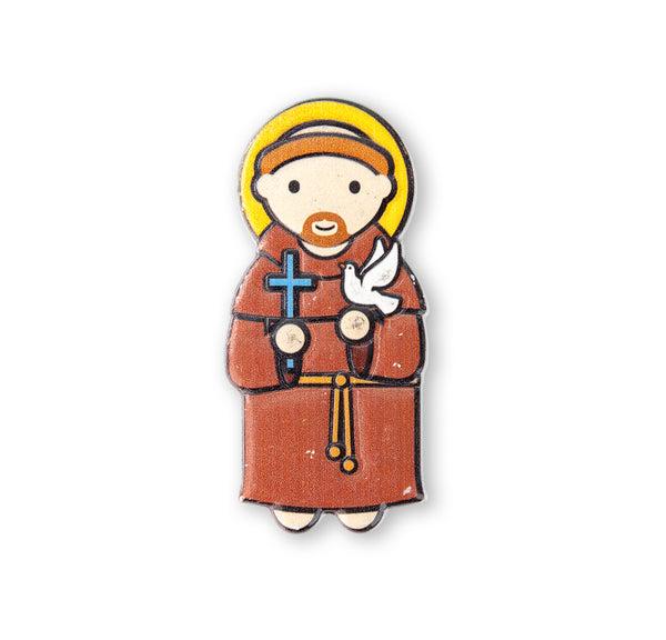 St. Francis of Assisi Little Drops of Water Magnet 836-310