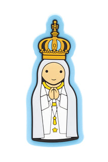 Our Lady of Fatima Little Drops of Water Little Drops of Water Magnet 887015