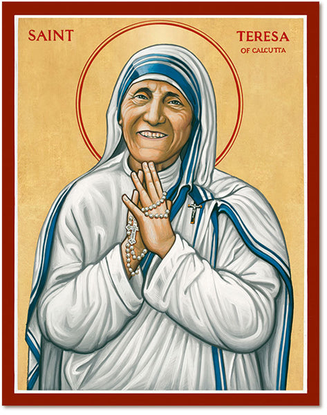 St. Teresa of Calcutta Icon 8x10 Print Unframed by Monastery Icons