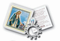Lady of Grace Miraculous Medal Finger Rosary