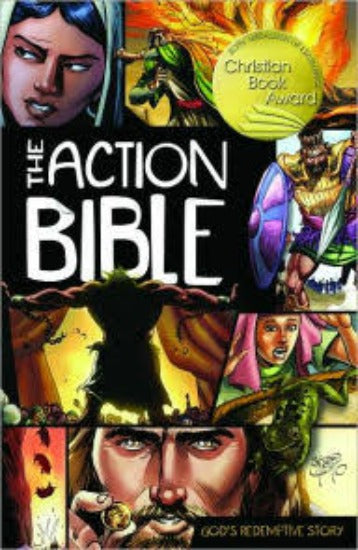 The Action Bible Graphic Novel or Comic Book Style  9780781444996
