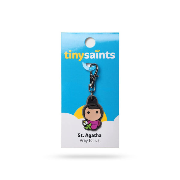 Tiny Saints - St. Agatha - Patron of Those With Breast Cancer