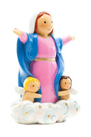 "Mary, Our Lady of the Assumption 3.5"" Statue - Little Drops of Water Series"