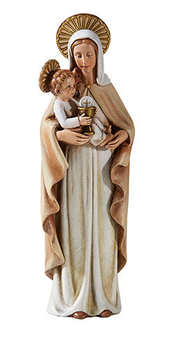 "M.J Hummel Our Lady of Blessed Sacrament 8"" Statue Virgin Mary First Communion B1201"