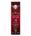Holy Spirit Confirmation Wooden Cord Rosary
